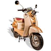 remplace le scooter SCOOTER 50 ECCHO RETRO GOLD