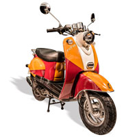 remplace le scooter SCOOTER 50 ECCHO RETRO JAM