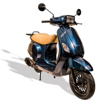 remplace le scooter SCOOTER TNT OTTO BLANC ITALIA