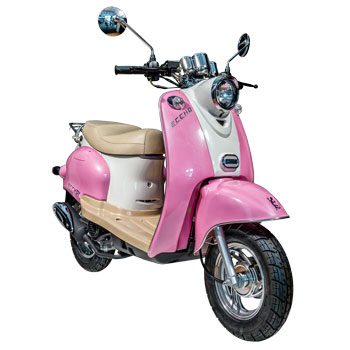 Scooter Eccho Retro Pink 50 - Yiying YY50QT15
