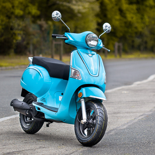 Scooter TNT Otto 50 Bleu - 2 temps