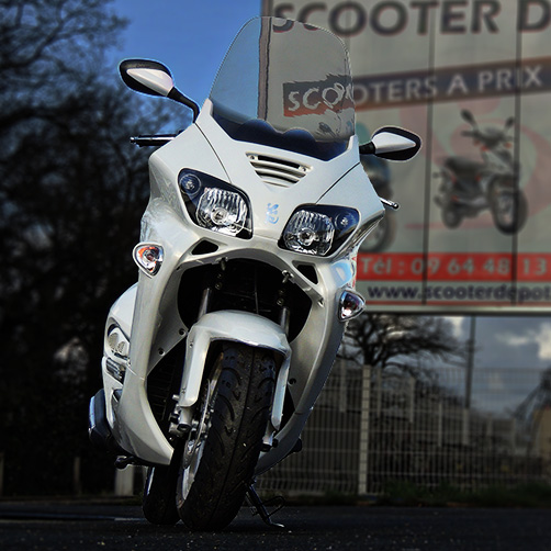 Scooter 125 Eccho GT Star White Series
