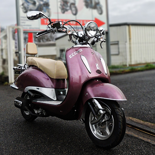 Scooter 125 Eccho La Choupette  - Yiying YY125T19