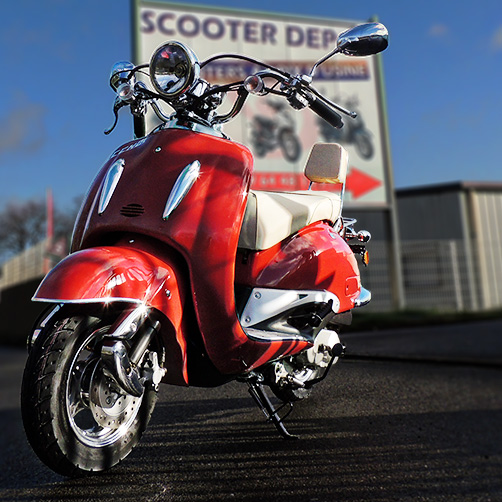 Scooter Eccho 125 La Choupette  - Yiying YY125T19