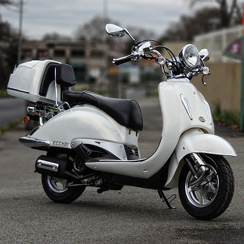 Scooter 125 Eccho La Choupette White Series