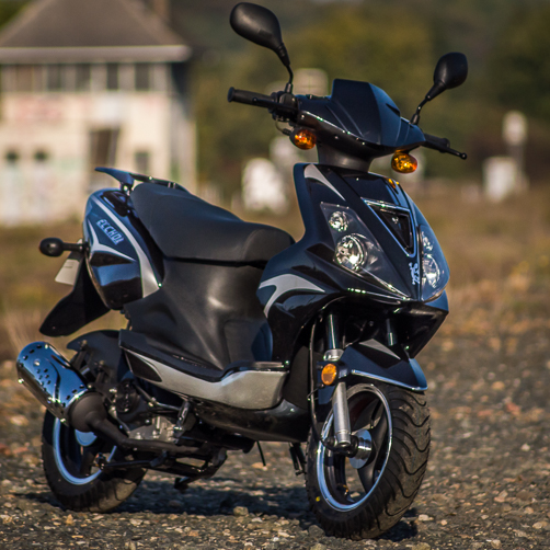 Scooter Eccho New Rock Noir - Yiying YY50QT6B